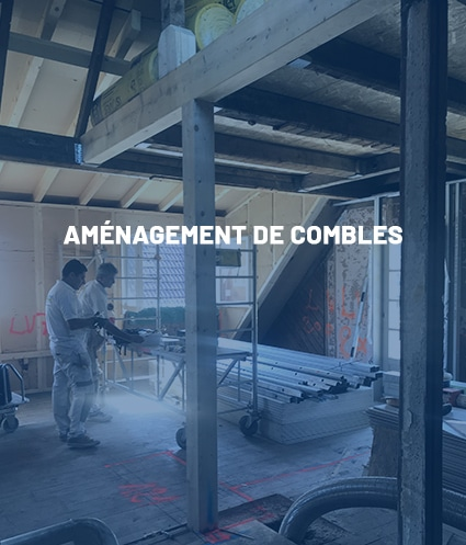 Compétence : Aménagement de combles - Plâtrerie JM PIRES