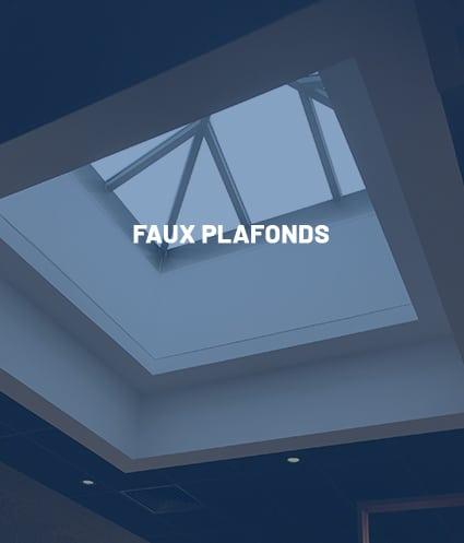 Compétence : Faux plafonds - Plâtrerie JM PIRES