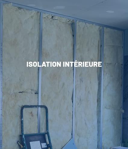 Compétence : Isolation intérieure - Plâtrerie JM PIRES
